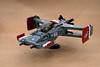Platypus-smoothed nose (ted @ndes) Tags: skyfi lego dieselpunk airplane aeroplane bw18 brickworld