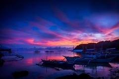 Palawan - El Nido (Ry W) Tags: backpacking beach boat colors elnido nex7 night palawan philippines sonyalphanex7 sunset travel