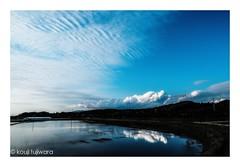 untitled (kouji fujiwara) Tags: fujifilmxt2 fujifilm xt2 fujinon xf1024mmf4 xf1024mm f4 ricefield reflection cloud