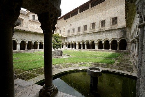 Cloister, Girona cathedral