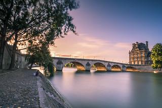 Summer life in Paris