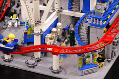 Classic Space Museum (Frost Bricks) Tags: lego rollercoaster roller coaster moc classic space theme park fun