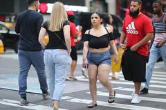 People crossing 49th Street along 7th Avenue. (kevinrubin) Tags: newyorkcity street streetphotography nyc newyork unitedstates us