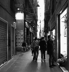 """Alleys Of Genova"" (giannipaoloziliani) Tags: suburbslife city blackandwhite biancoenero flickr capturestreets capture downtown periphery suburbs suburban people dark darkness nikonphotography nikoncamera nikon streetphotography streetlife alleys alleysofgenoa genova genoa lights shadows lightandshadow liguria italy italia vicolidigenova vicoli"