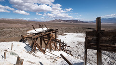 Abandoned Talc Mine, Death Valley National Park (joeqc) Tags: ca california dvnp deathvalleynationalpark deathvalley fuji xe3 xf1024f4r mine mining talc abandoned forgotten desert