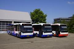 VDL Berkhof Ambassador 200 Arriva Limburg TCR 575 met kenteken BT-XD-95, TCR 580 met kenteken BT-XF-06 en TCR 585 met kenteken BT-ZB-33 voor de bus garage in Heerlen 19-05-2018 (marcelwijers) Tags: vdl berlhof ambassador 200 arriva limburg tcr 575 met kenteken btxd95 580 btxf06 en 585 btzb33 voor de bus garage heerlen 19052018 lijnbus linienbus bussen coach coaches nederland the netherlands pays bas niederlande berkhof