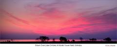 Dawn Over Lake Ontario At Radio Tower Field, Grimsby (jwvraets) Tags: panorama pano sunrise dawn grimsby lakeontario shoreline radiotowerfield horizon opensource hugin rawtherapee gimp nikon d7100 tamron90mmf28macro11272e