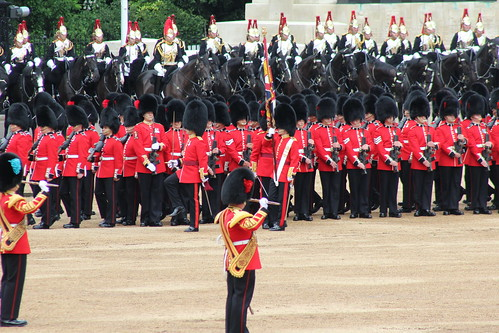 Trooping the Colour Rehearsal