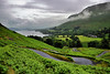 The winding road, Lake Ullswater, Cumbria, England (vincocamm) Tags: ullswater lake lakedistrict cumbria howtown martindale water mist misty green grey clouds cloudy trees hotel boat steamer nikon d5500 fells winding curves