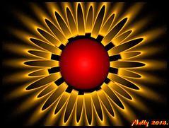 *Hot sun!* (MONKEY50) Tags: art abstract colors fractal digital ball hypothetical artdigital netartii awardtree musictomyeyes autofocus contactgroups flickraward