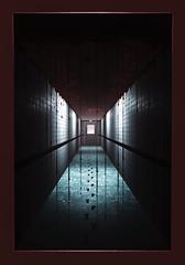 The Nightmare Walk (Stachmoon) Tags: access nightmare reshade door fear portal horror surreal digital art video game