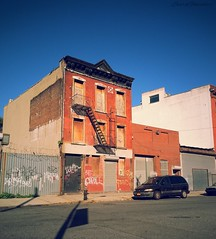 """Astoria Blvd (Laura Gonzalez/ PBNPhotography) Tags: astoria manhattan ny hidden nyc newyork abandoned buildings slums ghetto decline architecture blight town """"smalltown"""" """"citycenter"""" """"mainstreet"""" neighborhood adventure afterlife amazing urbanexploration urbex antique architecturalafterlife awesome beautiful decay emptyspaces exploration history"""