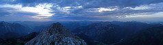 Am Lugauer 2217m (ernst.weberhofer) Tags: lugauer gesäuse radmer morgendämmerung sonnenaufgang