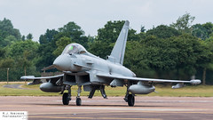 RAF Typhoon (M J Robinson Photography) Tags: 2017 arrivals riat thursday royalinternationalairtattoo raf fairford britain british air force royalairforce eurofighter typhoon fgr4 zj950 29 squadron attack fighter jet aviation photography nikon d7100 nikond7100