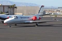 N820MC (LAXSPOTTER97) Tags: airport aviation airplane khnd n820mc cessna citation ii cn 5500106 ln 117 old glory leasing llc