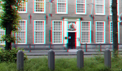 Lange Voorhout Den Haag 3D (wim hoppenbrouwers) Tags: langevoorhout denhaag 3d anaglyph stereo redcyan the hague thehague