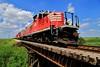 The Final Swing (BravoDelta1999) Tags: bloomer shippers connecting blol railroad wabash wab norfolkandwestern nw railway illinois emd gp9 gp10 7591 7504 grain train ltex gp382 3801 gibsoncity