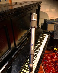 Mic the Keys (Pennan_Brae) Tags: studiolife uprightpiano musicproduction musicproducer recordingsession recording recordingstudio musicphotography music musicstudio piano microphone