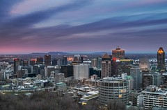 #Montreal #MountRoyal #Dusk #Sunset #Urban #Travel #Light #SunsetClouds (yuxianghuang) Tags: sunset urban travel light dusk mountroyal sunsetclouds montreal