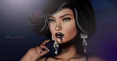 Girls Like You (Hunnie.VonM) Tags: mandala truth kunst maitreya secondlife sl mesh bento lwmakeupartist vintagefair