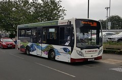 Compass Bus GX13 FSP Barnham 4/6/18 (jmupton2000) Tags: gx13fsp alexander dennis enviro 200 dart compass bus travel worthing sussex
