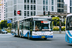YOUNGMAN JNP6180G_HuB61133_1 (hans-johnson) Tags: youngman jnp6180 young man neoplan centroliner n4521 articulated articulatedbus bendybus bendy bus vehicle vehicles buses transit transport transportation traffic road street city urban blue lujiazui century ave avenue pudong shanghai china chine chunghwa cn sh metro metropolis metropolitan asia asian chinese canon eos 5d eos5d 5d3 100mm prime 5diii cloudy white lr ps photoshop lightroom day light 上海 中国 巴士 omnibus publictransportation publictransport auto dslr capture nice photography fullframe 2015 summer downtown center hdr scape