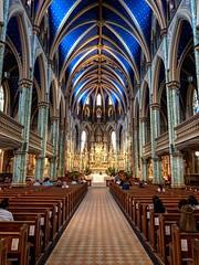Notre-Dame Cathedral Basilica (Richard Pilon) Tags: church ottawa iphone cathedral basilica building catholicchurch notredamecathedralbasilica architecture