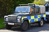 SV57 NYB (S11 AUN) Tags: police scotland land rover defender 110 4x4 operational support unit osu specialist incident response vehicle dundee 999 emergency sv57nyb