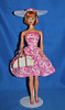 Pink Floral Farmers Market (toomanypictures1) Tags: ooakclothes barbie francie curvy reproduction american girl made move mattel
