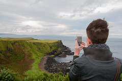 Giant's Causeway with Michelle (Dr_Moriarty) Tags: 2017 europe giantscauseway ireland northernireland vacation