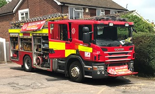 Hertfordshire Fire & Rescue Kings Langley Pump