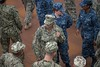 Camouflage Attire (Scott 97006) Tags: uniforms camouflage people service navy