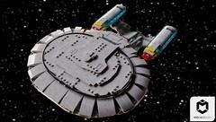 USS Enterprise D (ORION_brick) Tags: lego enterprise d ncc 1701 generations next tng star trek space spaceship starship flagship ship render mecabricks