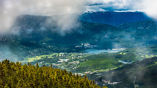 Whistler, British Columbia from the Air