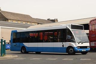 KL YJ58CDV @ Lancaster bus station