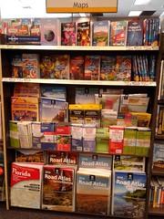 Let the Maps Guide You to Your Destination… (Albertsons Florida Blog) Tags: booksamillion maps retail store merrittsquaremall merrittisland florida brevardcounty display