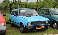 Yugo 55A 1989 (XBXG) Tags: xn01tv yugo 55a 1989 zastava blue bleu youngtimer evenement classicpark cp boxtel noord brabant nederland holland netherlands paysbas koral yugoslav serbe serbie србија servië yougoslavia serbia old classic car auto automobile voiture ancienne vehicle outdoor