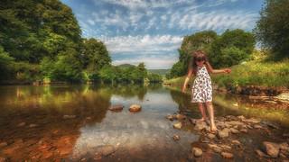 Simple pleasure in life ...paddling x
