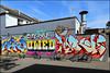Neka / Owed / Vodka (Alex Ellison) Tags: neka nekah ctr 1t owed lb tbf vodka brighton england uk urban graffiti graff boobs