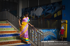 Little India, Singapore (Naomi Rahim (thanks for 3.9 million visits)) Tags: littleindia singapore 2017 travel travelphotography nikon nikond7200 asia streetphotography wanderlust people sari woman lady style dress hindu indian