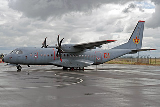 Kazakhstan Air Force CASA C-295M 01 Red TSE 23-05-18