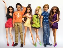 Happy Pride Month from Barbie & friends! ️🌈 (honeysuckle jasmine) Tags: bisexual transgender lesbian gay ken collection dolls doll pride lgbtq lgbt barbie