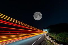 BCRCO662018-35 (Ranbo (Randy Baumhover)) Tags: oregon oregoncoast pacificocean hwy101 sunrise moon