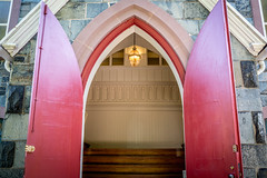 Red Doors (Phil Roeder) Tags: washingtondc leica leicax2 red doors church