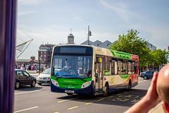 Green with envy (mangopearuk) Tags: uk unitedkingdom england hampshire bus buses publictransport transit stagecoach stagecoachsouth stagecoachinthesouthdowns stagecoachhampshire portsmouth southsea havant adl alexanderdennis enviro enviro300