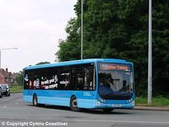Trainer Tempo (Cymru Coastliner) Tags: trentbarton optaretempo 9308 yj07vsc bus nottingham wellglade