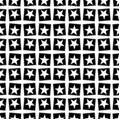 Seamless pattern with a five-pointed star by Astroniras (Astronira) Tags: seamless pattern ornament abstract background texture textured rhythm symmetric symmetrical symmetry infinite patterned image astronira design decorative decor geometric geometrical black white star fivepointed pentagonal stellar