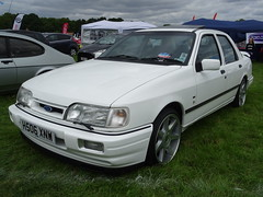 1991 Ford Sierra Sapphire Cosworth (Neil's classics) Tags: vehicle 1991 ford sierra sapphire cosworth