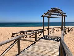 To The Beach (Marc Sayce) Tags: boardwalk pagoda beach coast playa canos caños meca barbate cape trafalgar cabo costa luz andalucía andalusia spain may 2018