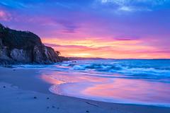 Sunrise (alize_28) Tags: beach ocean sea sky leverdesoleil sunrise landscape nature paradis paradise couleurs colors nikon trezhir plougonvelin finistère bretagne france